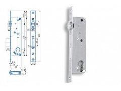 Zámek Hobes K 445 se zádlabem 40-50 mm ŽELEZÁŘSTVÍ - Zámky - Zadlabávací zámky - Zadlabávací zámky speciální provedení