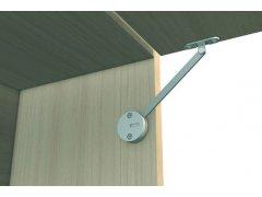 Sklopná rozpěra NK 462 levá ŽELEZÁŘSTVÍ - Nábytkové kování,nábytkové panty - Kuchyně/Skříně