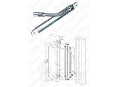 Kabelová průchodka zadlabací EA281 478x23x16mm DVEŘE - Samozamykací zámky - Samozamykací zámky doplňky - Kabely a Kabelové průchodky