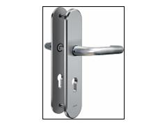 Bezpečnostní kování IKON SX03 – klika/klika DVEŘE - Samozamykací zámky - Kování pro samozamykací zámky - Kování Fab