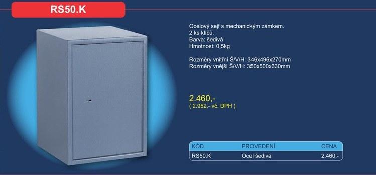 Nábytkový sejf RS50.K