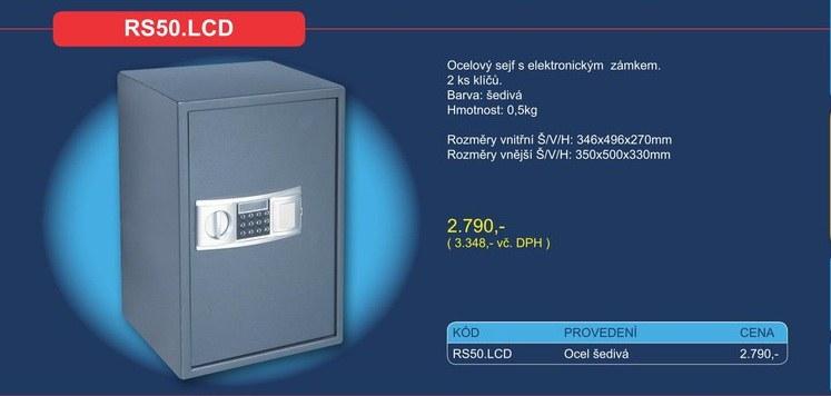 Nábytkový sejf RS50.LCD