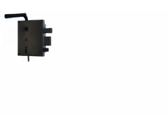 Zadlabávací zámek 3425 na klíč levá / pravá DVEŘE - Dveřní kování, dveřní příslušenství - Zámky povrchové rustikální
