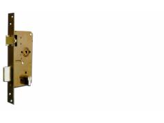 """Zadlabací """"vratový"""" zámek 90/63,5/32 lakovaný ŽELEZÁŘSTVÍ - Zámky - Zadlabávací zámky - Zadlabávací zámky na vložku, na klíč - Zadlabávací zámky na vložku rozteč 90"""
