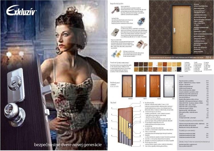 Bezpečnostní dveře Securido ® Exkluzív