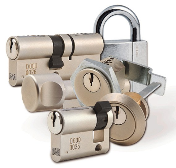 Vložka se závitem na tělese 2535 Ch - Systém Generálního klíče Fab Dynamic plus