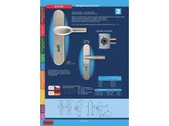 Bezpečnostní kování R701PZ madlo/klika DVEŘE - Dveřní kování, dveřní příslušenství - Bezpečnostní kování - Bezpečnostní kování Richter