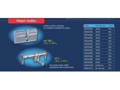 Slepá vložka DVEŘE - Cylindrické vložky - Cylindrické vložky příslušenství