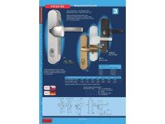 Bezpečnostní kování R101ZA.TB3 madlo/klika DVEŘE - Dveřní kování, dveřní příslušenství - Bezpečnostní kování - Bezpečnostní kování Richter