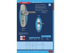 Bezpečnostní kování SB5200ZA.TB3 klika/klika DVEŘE - Dveřní kování, dveřní příslušenství - Bezpečnostní kování - Bezpečnostní kování Richter