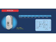 Bezpečnostní přídavné kování R103.ZA DVEŘE - Dveřní kování, dveřní příslušenství - Bezpečnostní kování - Bezpečnostní rozetové kování, přídavné kování - Přídavné bezpečnostní kování