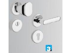 MODEL R1/S DVEŘE - Dveřní kování, dveřní příslušenství - Bezpečnostní kování - Bezpečnostní kování Rostex