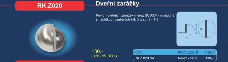 Dveřní zarážka RK.Z020