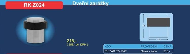 Dveřní zarážka RK.Z024