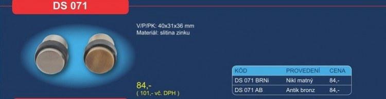 Dveřní zarážka DS 071
