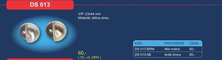 Dveřní zarážka DS 013 - Dveřní příslušenství