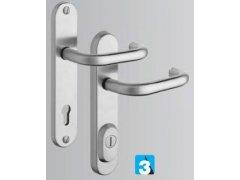 MODEL R4/0 BRAVO DVEŘE - Dveřní kování, dveřní příslušenství - Bezpečnostní kování - Bezpečnostní kování Rostex
