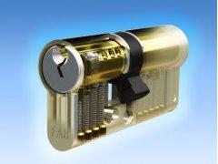 Vložka Fab 1000 5kl DVEŘE - Cylindrické vložky - Cylindrické vložky oboustranné - Cyl. vložky do 1000,-