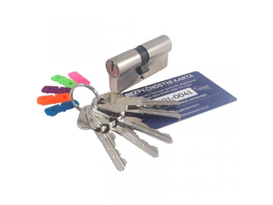Bezpečnostní vložka STAR 100S TM 5 klíčů - Bezpečnostní třída 4