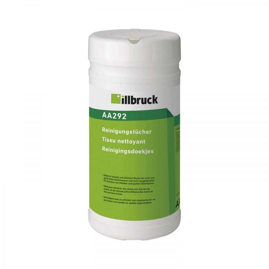 Illbruck čistící ubrousky AA292, 100ks - Čističe,chladicí,kluzné mazací prostředky
