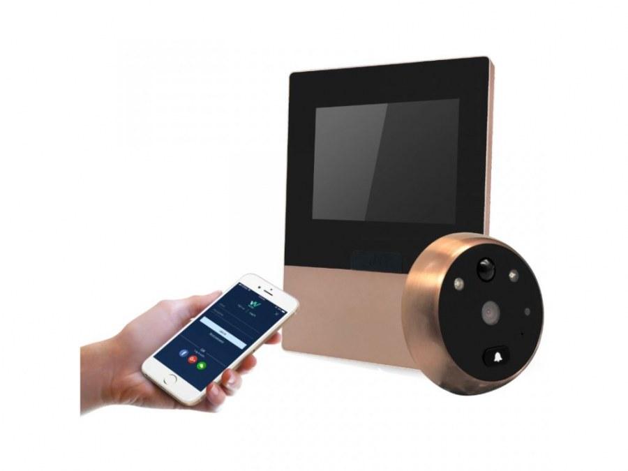 Digitální kukátko STAR W02 - Dveřní kukátka digitální