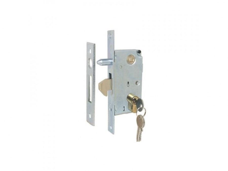 Zámek IBFM 447 s hákem a trnem pro posuvná vrata - Zámky na posuvné dveře