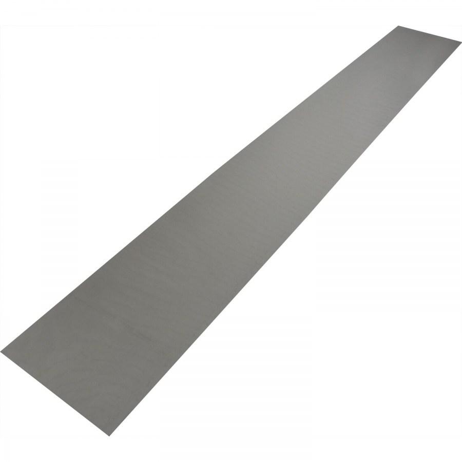 Okopový plech 1000 x 150 x 1,5 mm, nerez lesk - Dveřní těsnění, prahy, těs. kartáče, okopové plechy