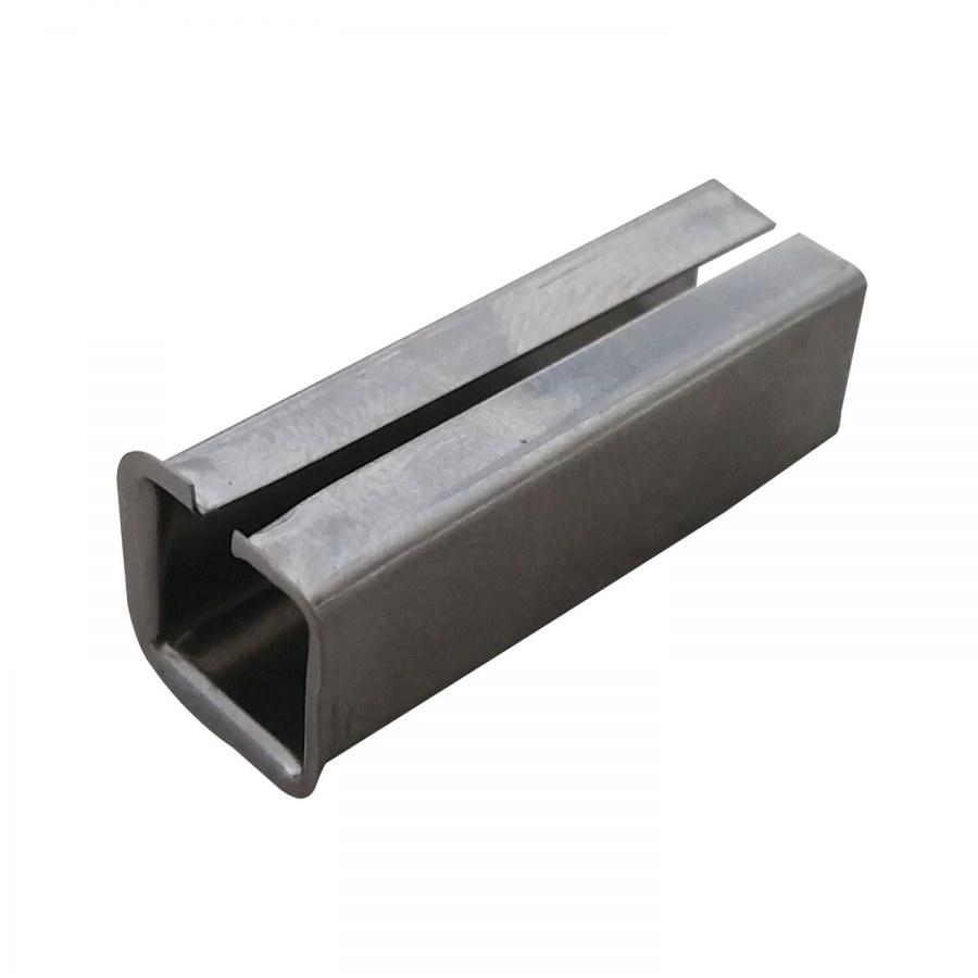 Redukce, vyrovnávací pouzdro z 8 na 8,5 mm, pozink. s drážkou a lemem - Kliky příslušenství