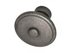 Dveřní kovaná koule, GRÖDEN, 60 mm, pozink patinovaný Dveře - Dveřní kování, dveřní příslušenství - Interiérové kování - Dveřní kování tepané železo