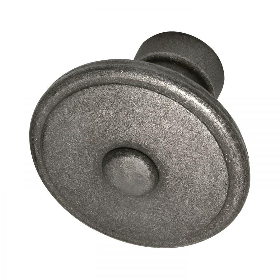 Dveřní kovaná koule, GRÖDEN, 60 mm, pozink patinovaný - Dveřní kování tepané železo