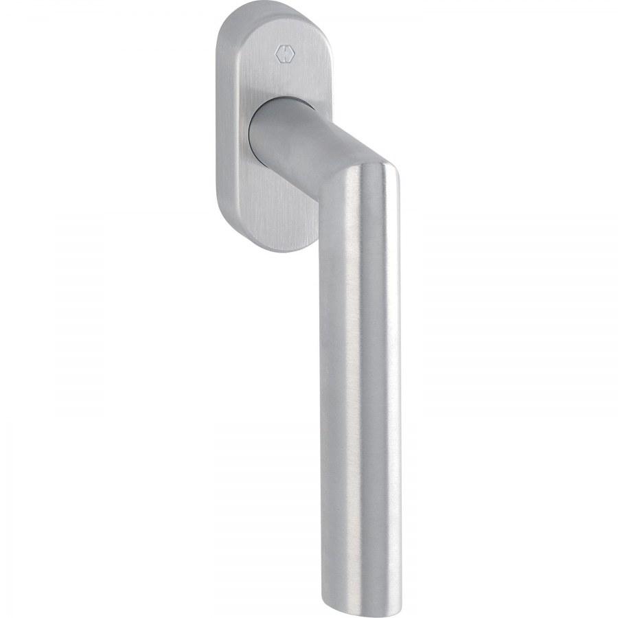 HOPPE okenní klika AMSTERDAM - Secustik, VarioFit, 7 x 32 - 42 mm, nerez mat - okenní