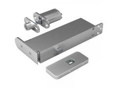 Dveřní závěs Pivotica Pro FM, max. váha 100kg, tl.dveří od 40 mm, nerez Dveře - Dveřní panty, Dveřní závěsy - Samozavírací závěsy