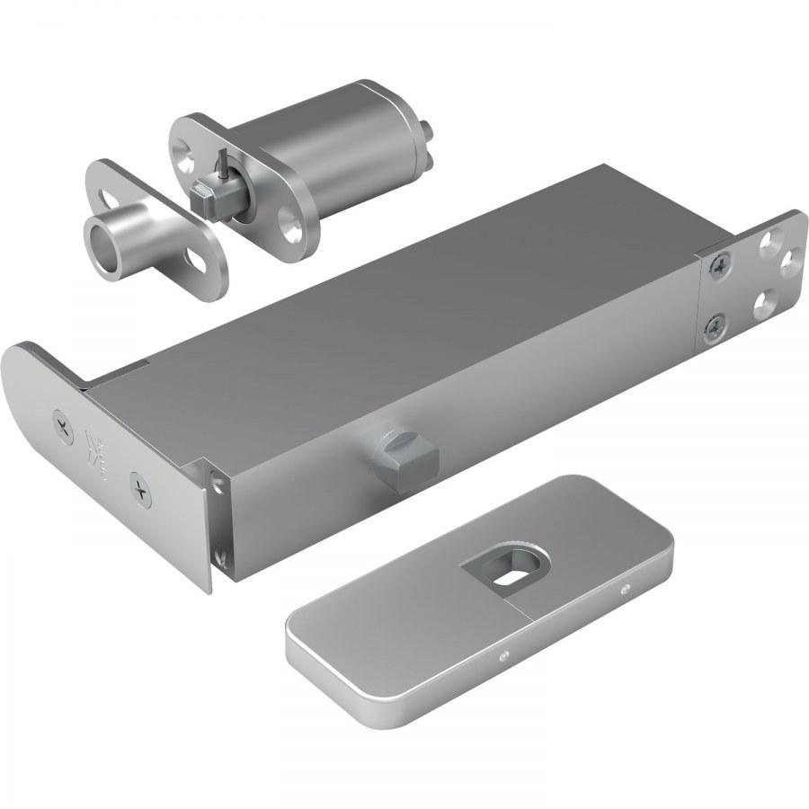 Dveřní závěs Pivotica Pro FM, max. váha 100kg, tl.dveří od 40 mm, nerez - Samozavírací závěsy