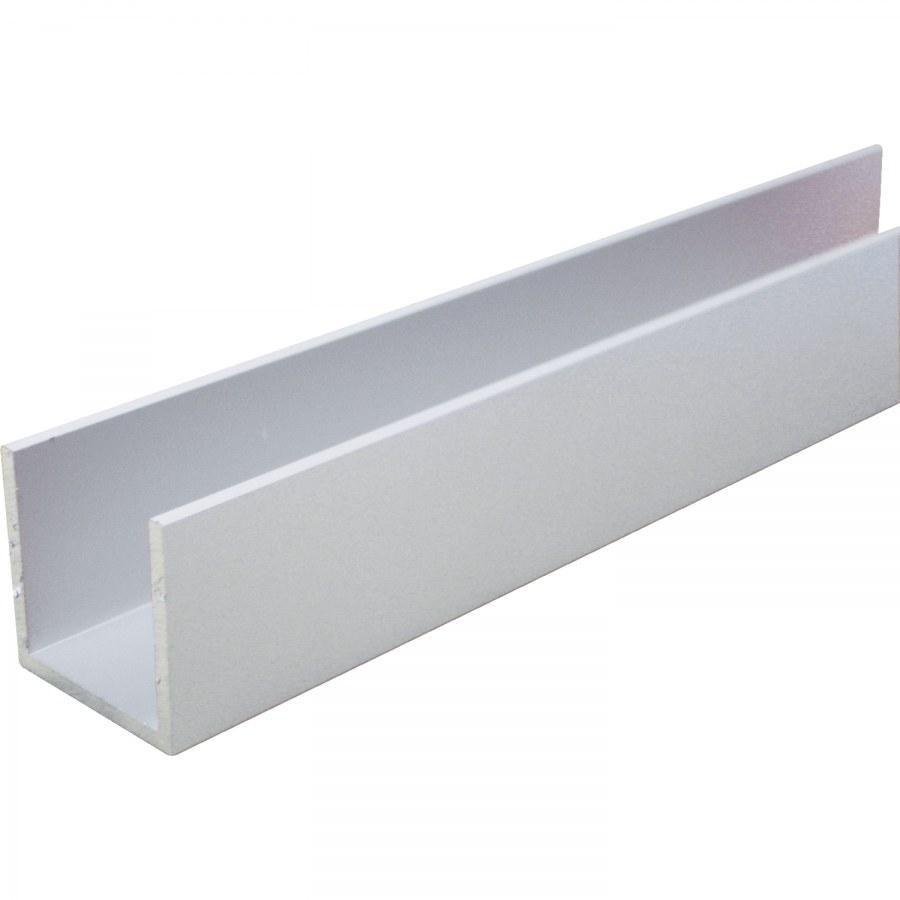 Hliníkový U-Profil AlMgSi 0,5 elox E6/EV1 rovnoramenný 15/15/15/2 mm - Hliník