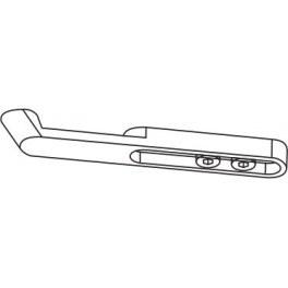 Ramínko s hákem G120 -stříbrný