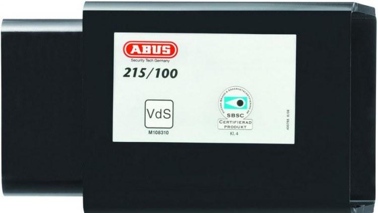 ABUS 215/100 + 37/55HB100 petlice na přepravní kontejnery včetně visacího zámku - Nad 1600,- kč