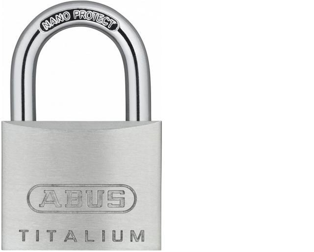 ABUS 726TI/40 visací zámek TITALIUM pro použití na tašky, kufry - Vis. zámky do 300,- Kč