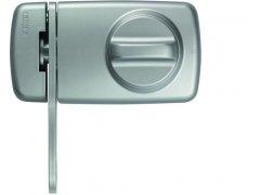 ABUS 2130 stříbrný bezpečnostní přídavný zámek se zajišťovacím okem a knoflíkem ŽELEZÁŘSTVÍ - Zámky - Přídavné zámky - Přídavné zámky ABUS