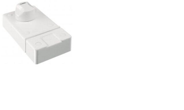 ABUS 2010 bílý bezpečnostní přídavný zámek s knoflíkem - Přídavné zámky ABUS