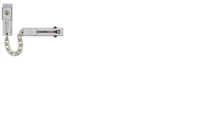 ABUS SK 78 Stříbrný ocelový dveřní řetízek
