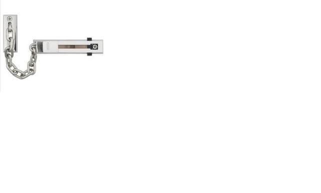 ABUS SK 66 Nikl ocelový dveřní řetízek