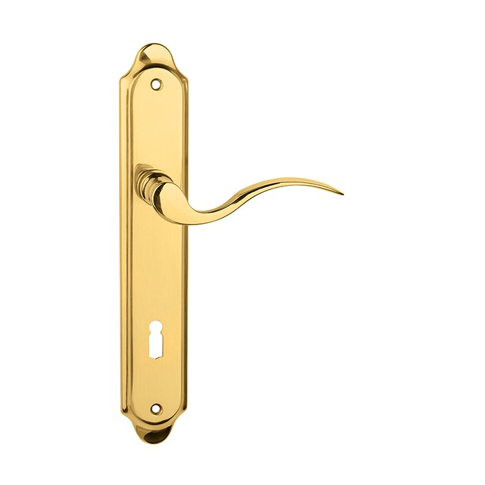 Dveřní štítkové kování AMADEUS BA 1360 KPZL/A 72mm