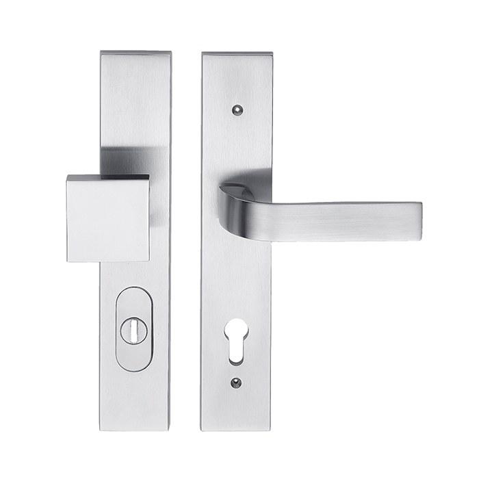 Dveřní bezpečnostní kování EIDOS HTSI DEF KPZL/CH-SAT 92mm