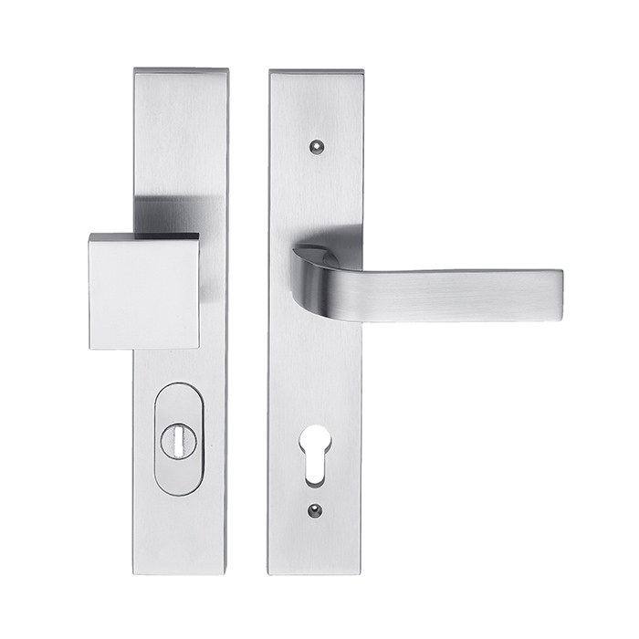 Dveřní bezpečnostní kování EIDOS HTSI DEF KPZR/CH-SAT 72mm