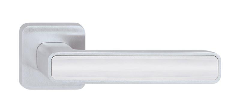 Dveřní rozetové kování INNER P660 WC/CH-SAT-LN