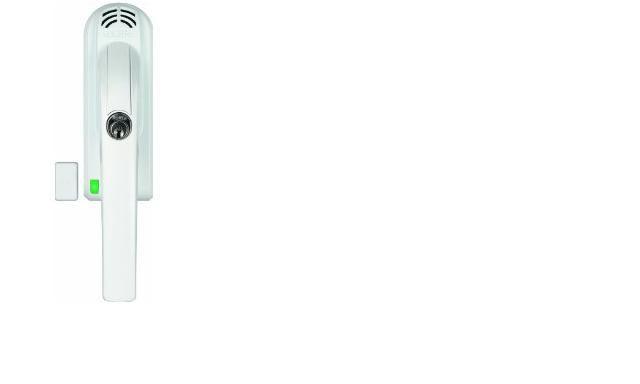 ABUS FG 300 A W uzamykací okenní, balkonová klika s alarmem - Okenní zámky s alarmem