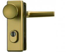 ABUS bezpečnostní kování KKZS700 kl+knofl/72mm DVEŘE - Dveřní kování, dveřní příslušenství - Bezpečnostní kování - Bezpečnostní kování Tokoz - rozteč 72mm