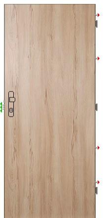 Bezpečnostní dveře Fab Protekt 2 - Bezpečnostní dveře Fab