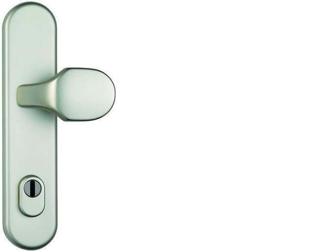 ABUS bezpečnostní kování HLZS814 kulatá kl+knofl/92mm