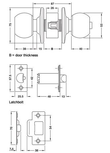 Otočná koule WC (americké koule)